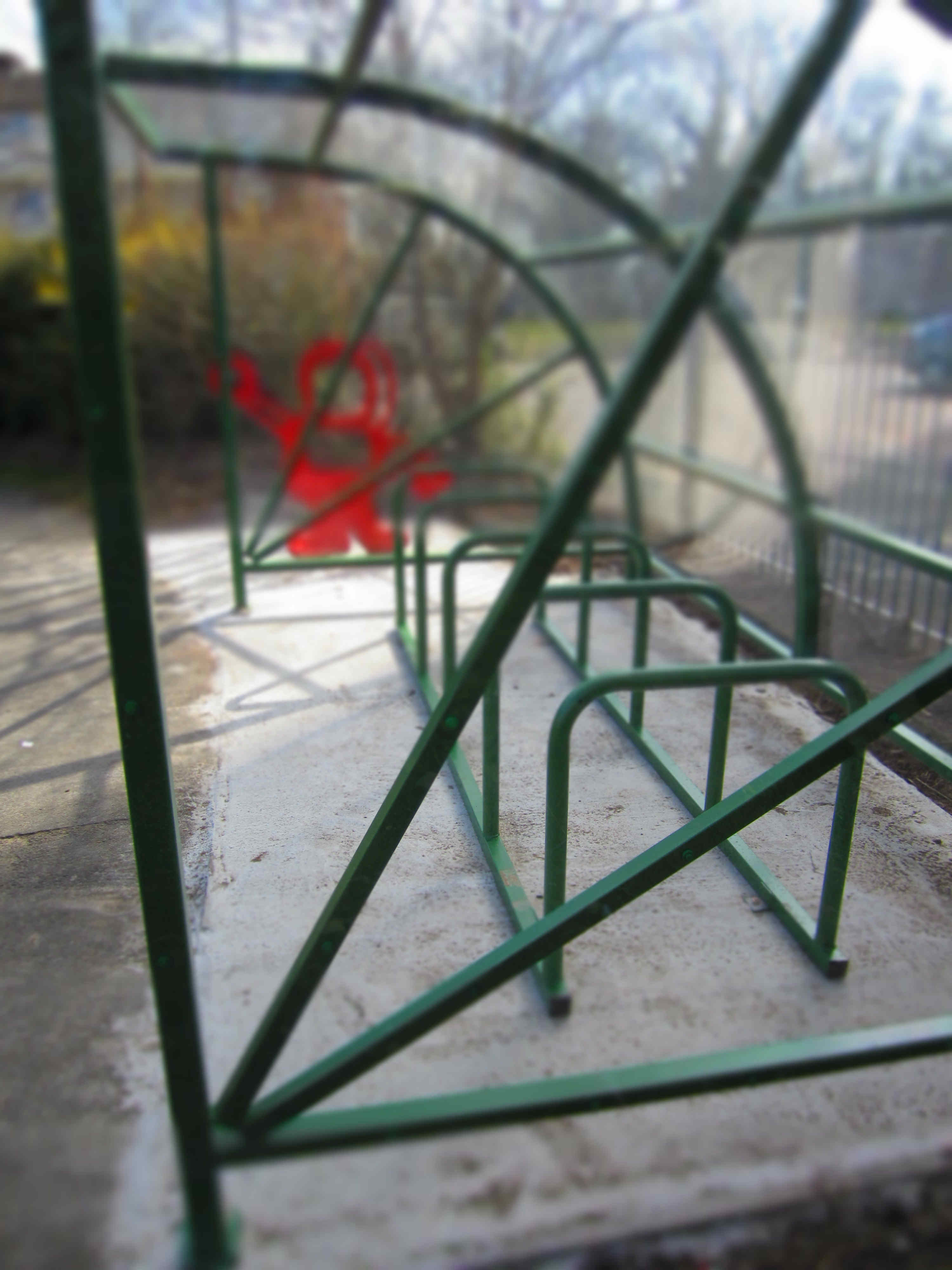 Bike And Scooter Racks Installed Coryton Primary School Pta